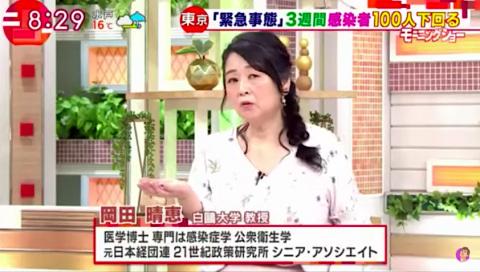 大学 岡田 晴恵 出身